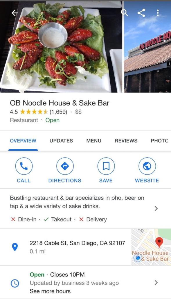 OB Noodle House