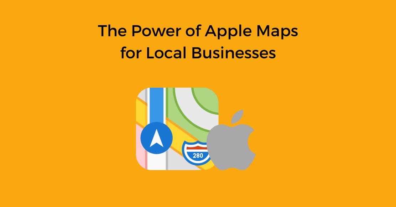 Power of Apple Maps
