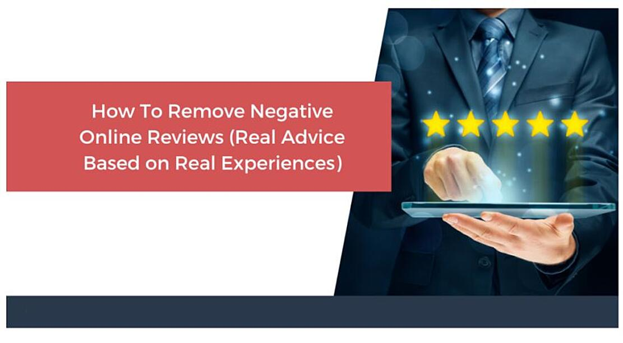 Removing negative reviews