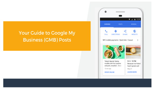 Your Guide To Google My Business Posts